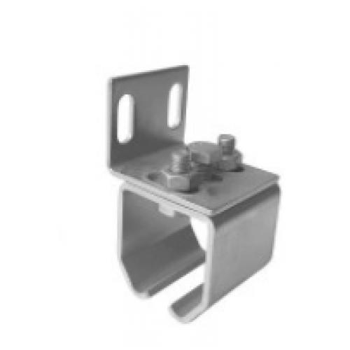 25-262/L Brida consola zincata tip L pentru sina poarta suspendata 25-232/L